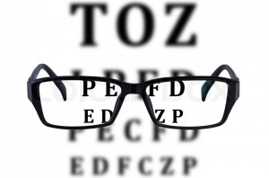 eye-glasses-isolated-with-eye-chart-background